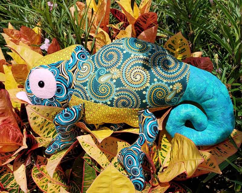 Chameleon Pattern sewn by Diana Sageser