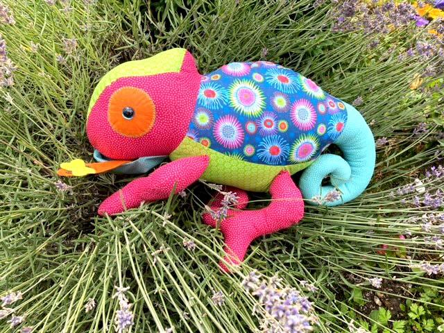 Chameleon Pattern sewn by Gabriele Girndt-Sharp