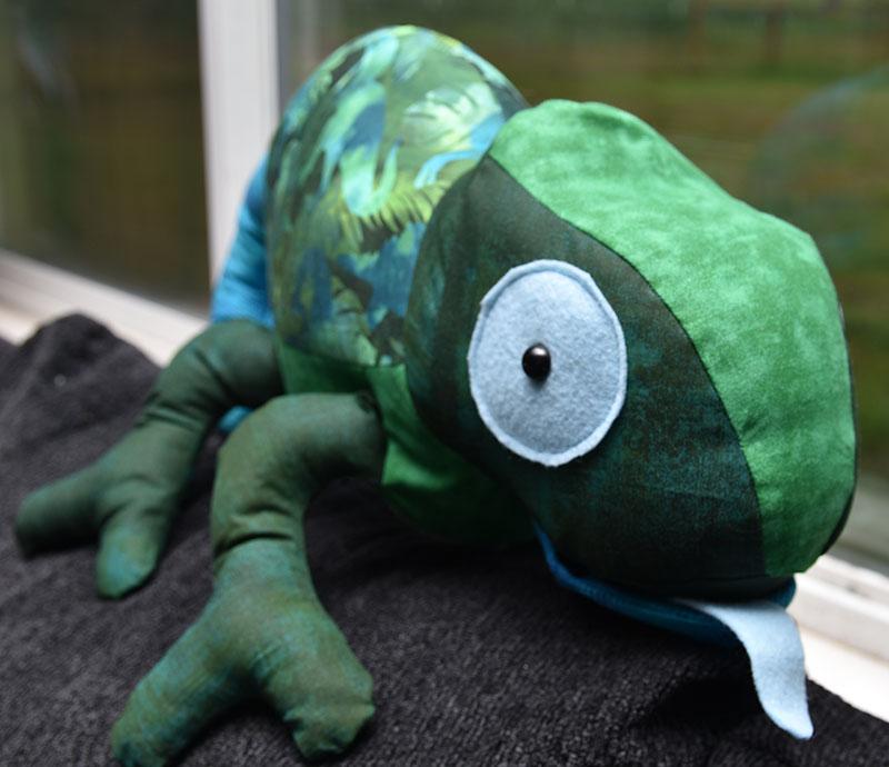 Chameleon Pattern sewn by MarieB2