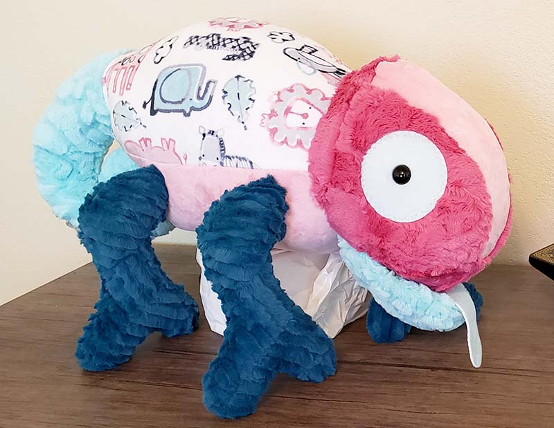 Chameleon Pattern sewn by Michelle Hall