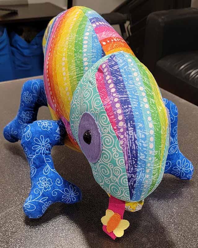 Chameleon Pattern sewn by Tammy Gosselin2