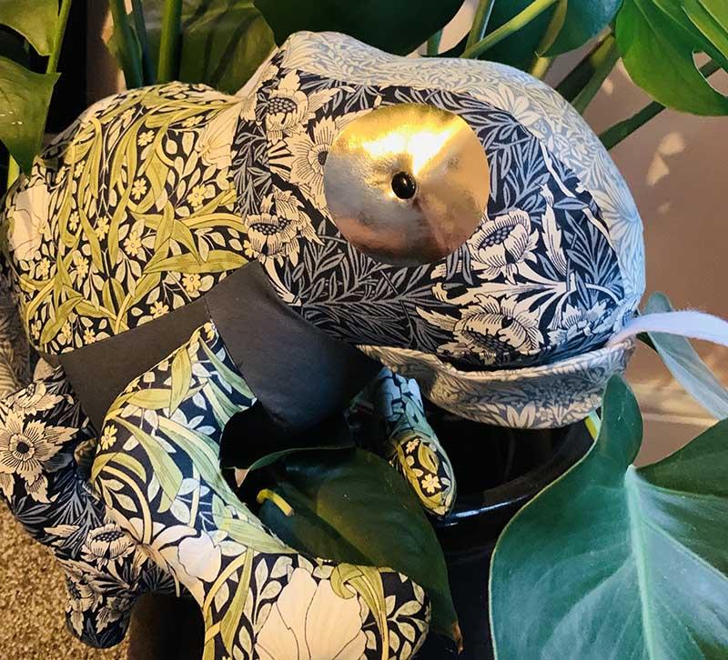 Chameleon Pattern sewn by Thomas Drew-Dutton - TeddsHandmade