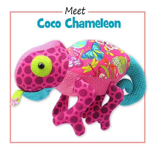 NEW Chameleon sewing pattern released!