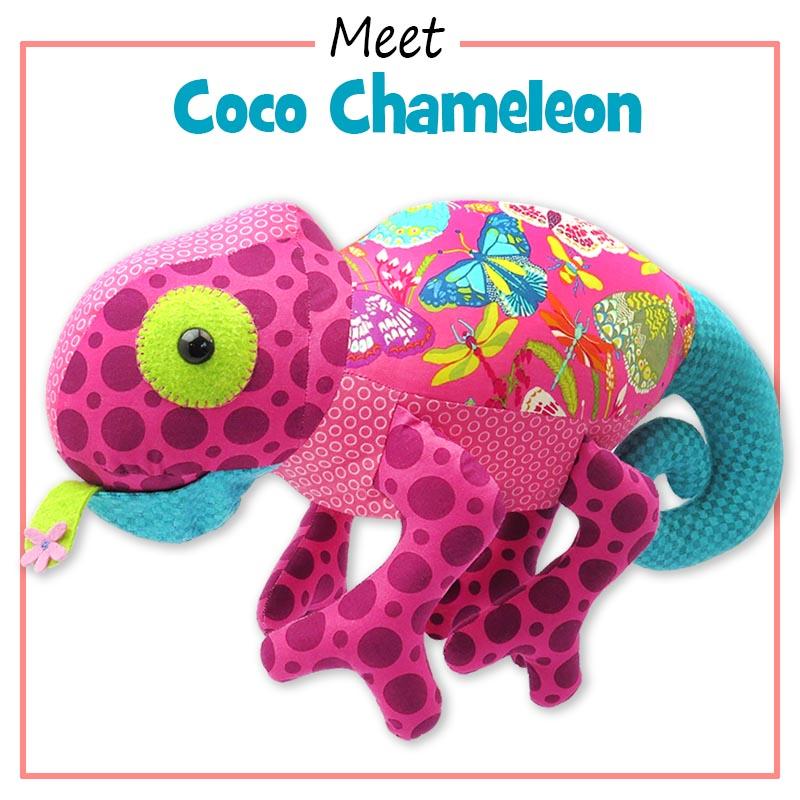Coco Chameleon Pattern