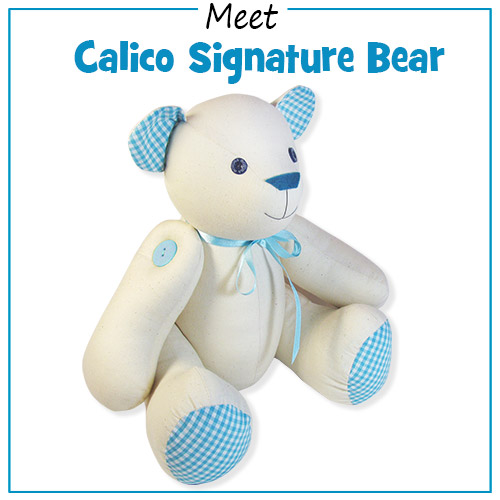 Meet Calico Signature Bear