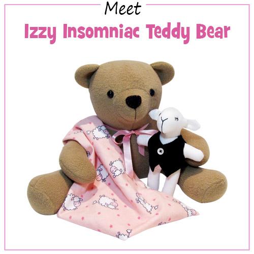 Izzy Insomniac Teddy Bear