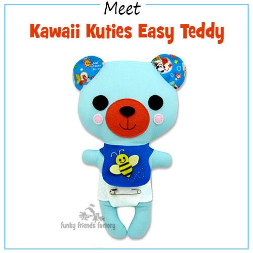 Kawaii Kuties EASY Teddy Bear