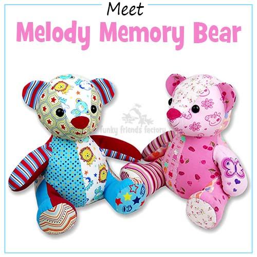 Melody Memory Bear Pattern