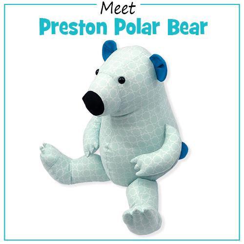 Preston Polar Bear sewing pattern