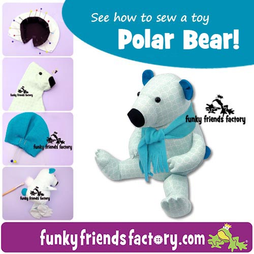 POLAR-BEAR- sewing pattern