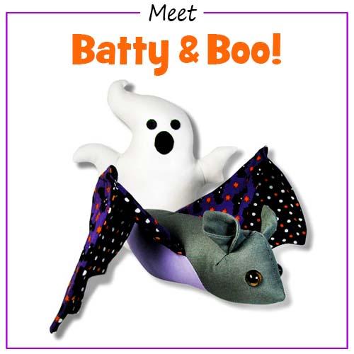 The Batty & Boo Halloween pattern is baaaaaack!