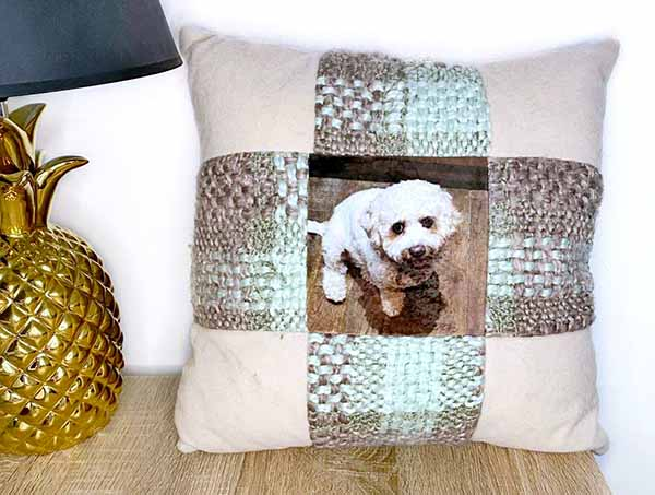 Bespoke Patchwork cushion