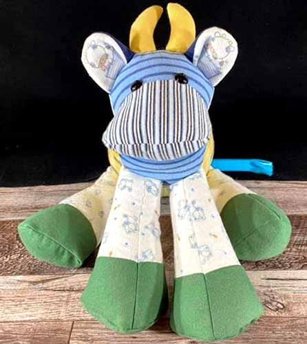 Cow keepsake sewn by AndreaSmith