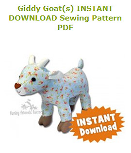 Goat Sewing Pattern