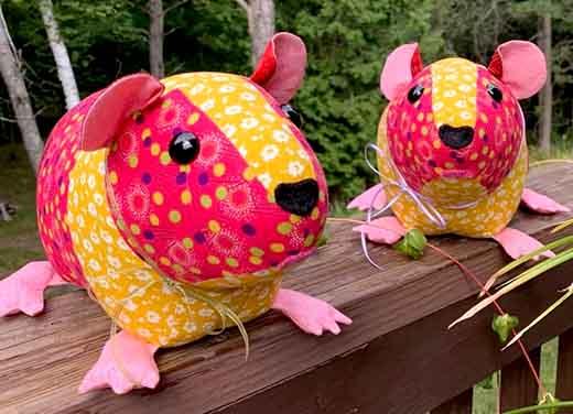 Guinea Pig Pattern by DianeHamilton