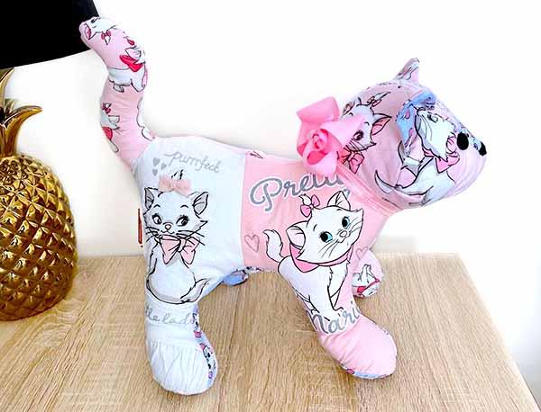 Patch Cat Keepsake sewn by Designs by Jasmin