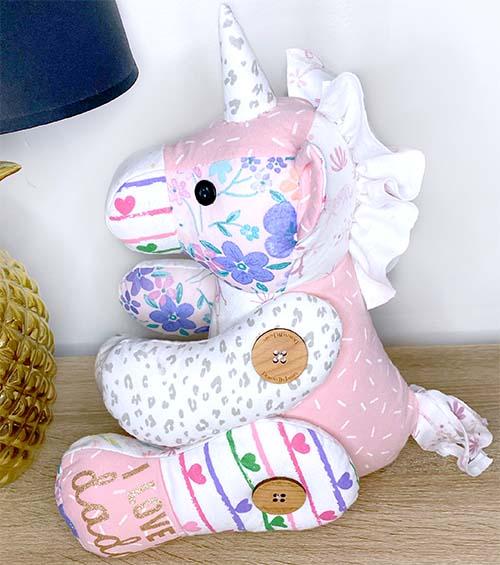 Unicorn Keepsake Pattern sewn by Jasmin Hutchison