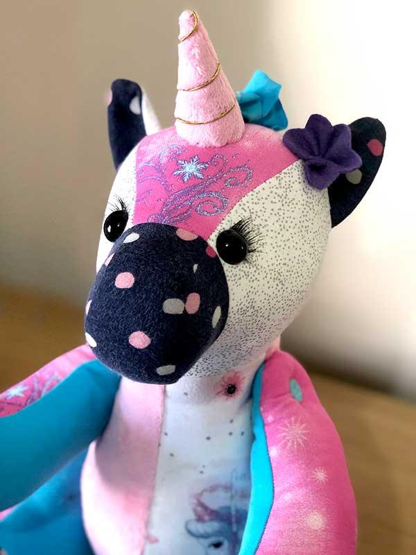 Unicorn Keepsake Pattern sewn by Lisa Smallwood - sewnforuandi 1