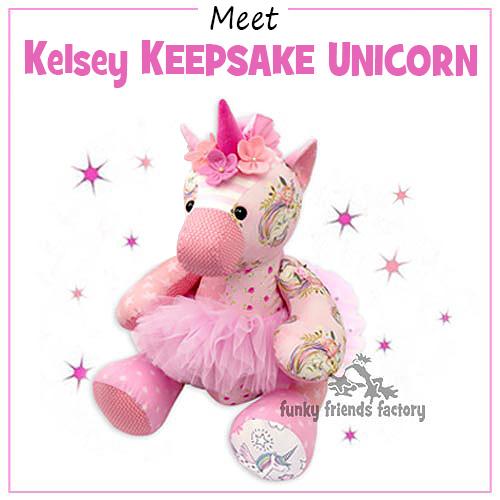 Meet Kelsey the KEEPSAKE UNICORN Pattern