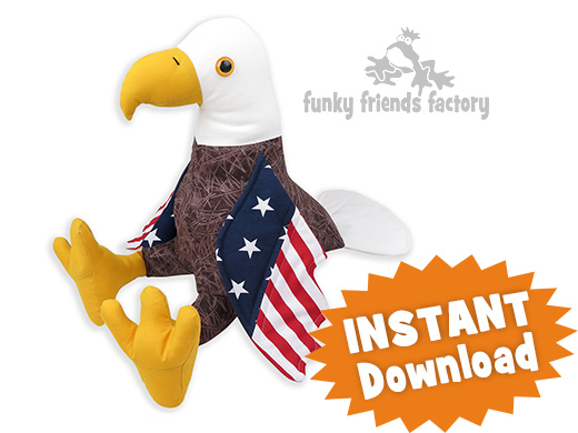 Bald Eagle sewing patternn