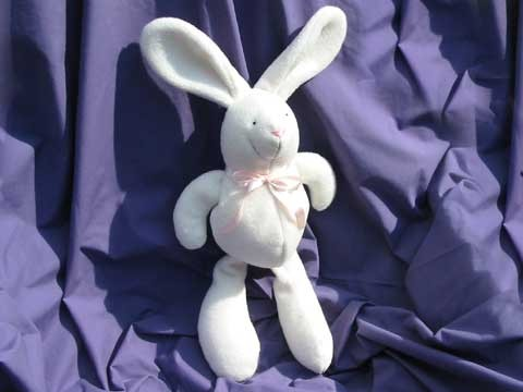 Baby Bunny Rabbit Soft Toy Sewing Pattern INSTANT DOWNLOAD
