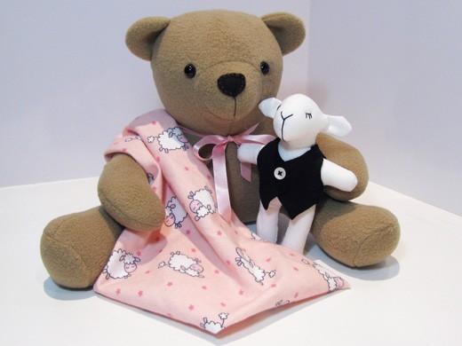 Izzy Insomniac Teddy Bear INSTANT DOWNLOAD Sewing Pattern PDF