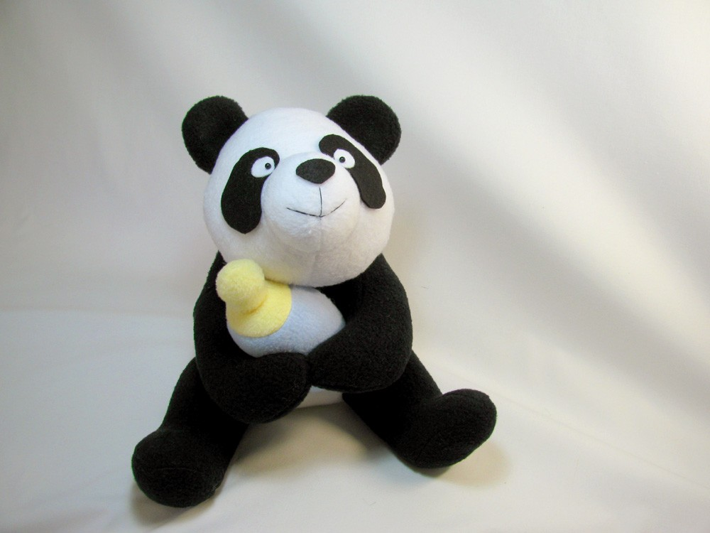 Panda Baby Ning INSTANT DOWNLOAD Sewing Pattern PDF
