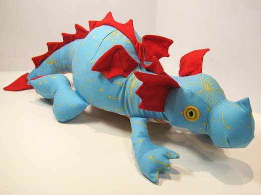 Diggles The Dragon Instant Download Sewing Pattern Pdf