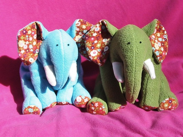 Ellie Elephant INSTANT DOWNLOAD Sewing Pattern