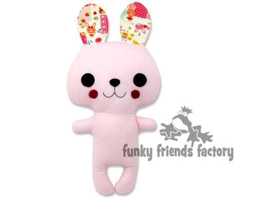 Kawaii Kuties - Easy BUNNY INSTANT DOWNLOAD Sewing Pattern PDF