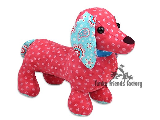 Digger & Dixie Dachshund INSTANT DOWNLOAD Sewing Pattern PDF