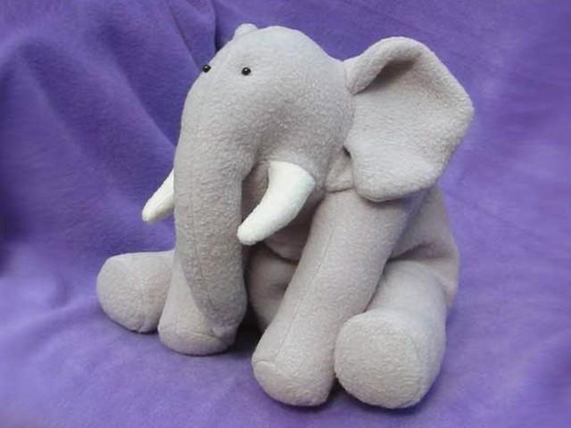 Ellie Elephant INSTANT DOWNLOAD Sewing Pattern