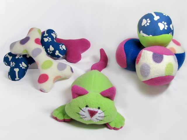 Dog Toys INSTANT DOWNLOAD Sewing Pattern PDF