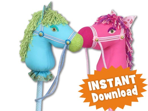 Harper The Happy Hobby Horse Instant Download Sewing Pattern Pdf