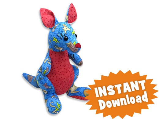 Joey Junior Kangaroo Instant Download Sewing Pattern Pdf