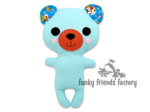 Kawaii Kuties - Easy Teddy Bear INSTANT DOWNLOAD Sewing Pattern PDF