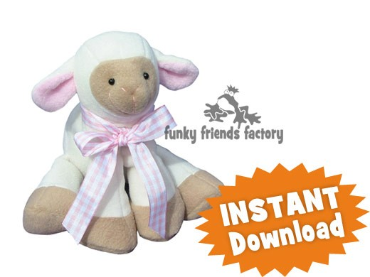 Lamkins Lamb Instant Download Sewing Pattern Pdf