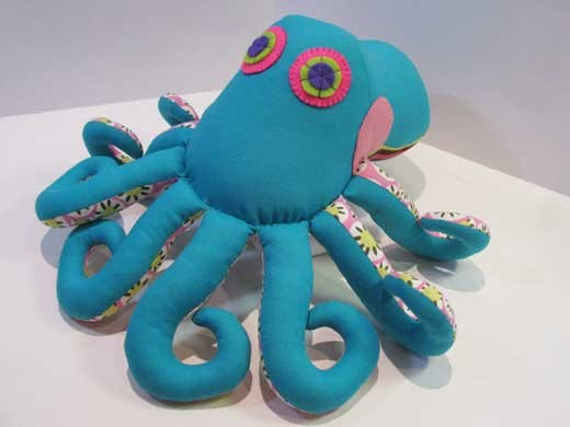 Ozzie Octopus INSTANT DOWNLOAD Sewing Pattern PDF