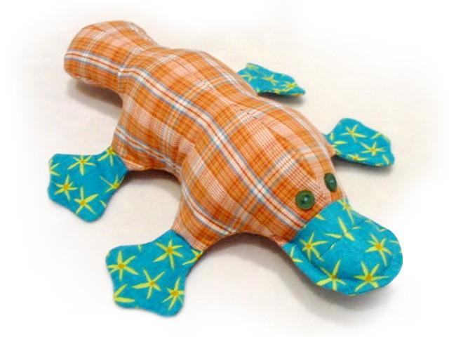 Plattie Platypus INSTANT DOWNLOAD Sewing Pattern PDF