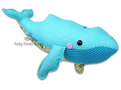 William Whale INSTANT DOWNLOAD Sewing Pattern PDF Mesmerizing Whale Pattern