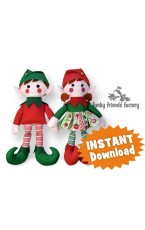 Elf CHRISTMAS  Doll Sewing Pattern