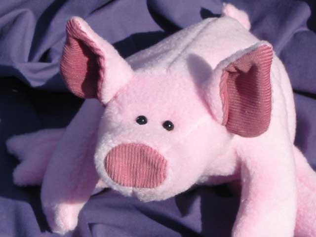 PDF Pattern teddy pig Lenny