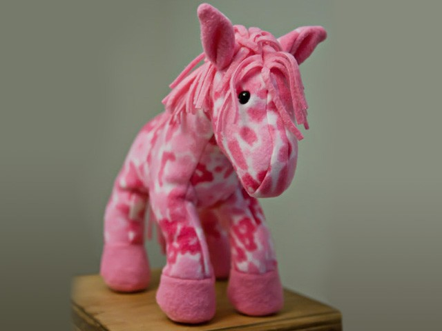 Stuffed Horse Toy : Horsey horse unicorn instant download sewing pattern pdf