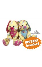 Easter Bunny Buddies INSTANT DOWNLOAD Sewing Pattern PDF