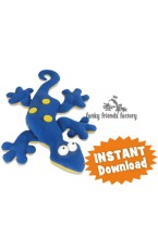 Gertie the Gecko HEAT PACK Sewing Pattern INSTANT DOWNLOAD