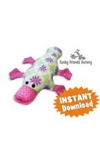 Plattie Platypus Soft Toy Sewing Pattern INSTANT DOWNLOAD