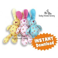 Baby Bunny Rabbit INSTANT DOWNLOAD Sewing Pattern PDF