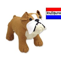 Butch & Bella Bulldog Knuffelpatroon PDF