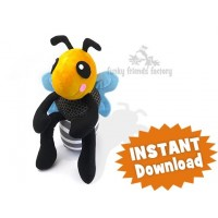 bumble bee toy Sewing Pattern