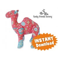 Chrissy Camel CHRISTMAS INSTANT DOWNLOAD Sewing Pattern PDF